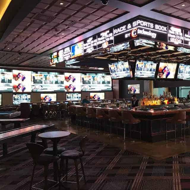 Sportsbook bar at Cosmopolitan Las Vegas