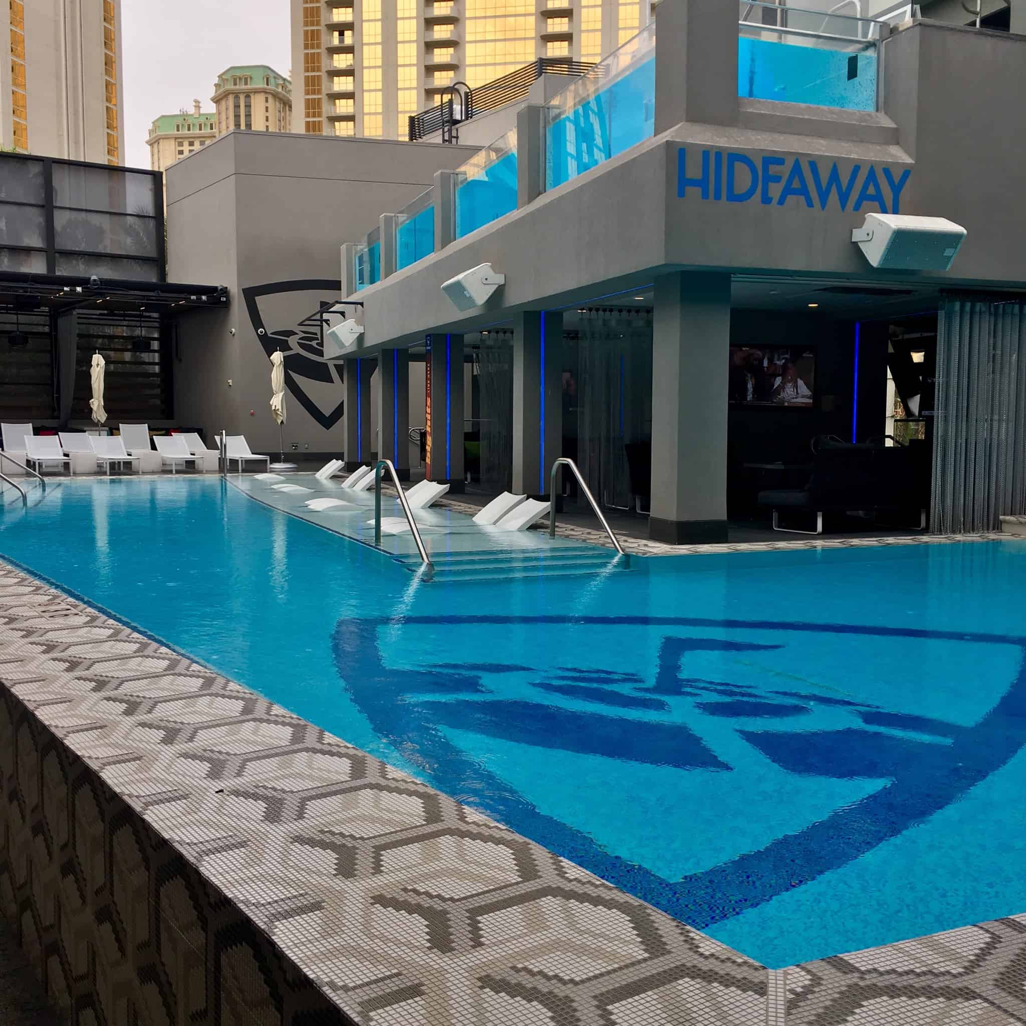2 Level Pool at Topgolf Las Vegas