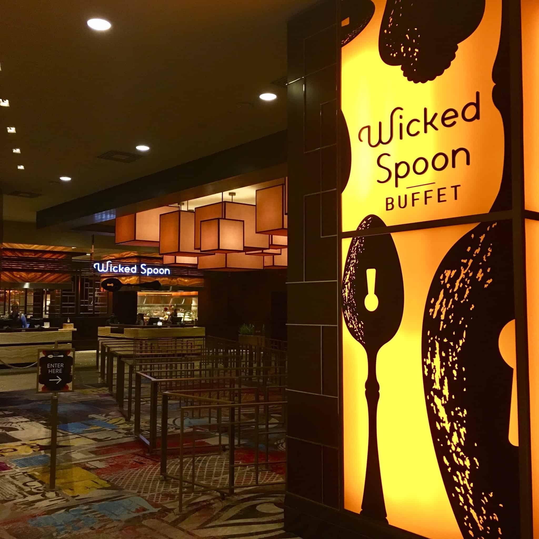 Entrance to Wicked Spoon Buffet in Las Vegas