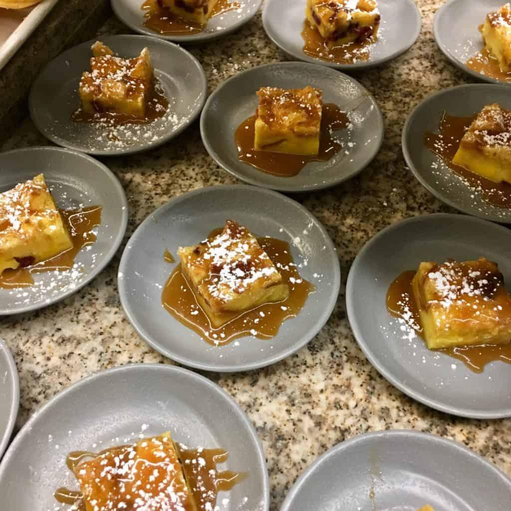 Assorted dessert options at Bacchanal Buffet