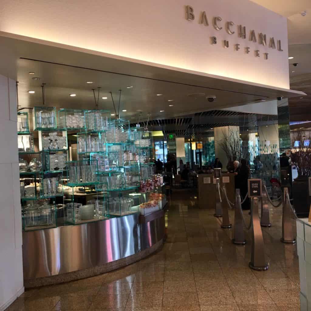 Exterior of Bacchanal Buffet