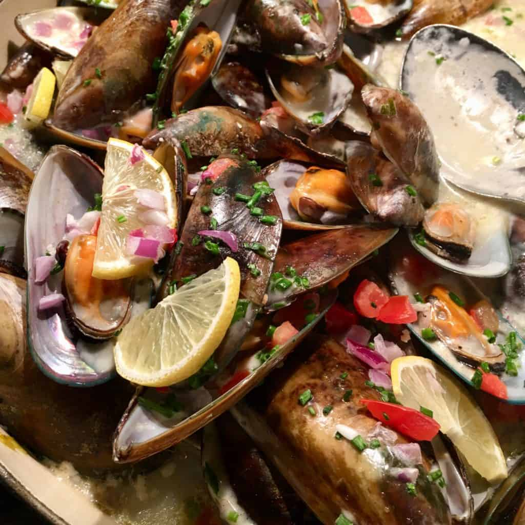 Mussels in Fennell Sauce