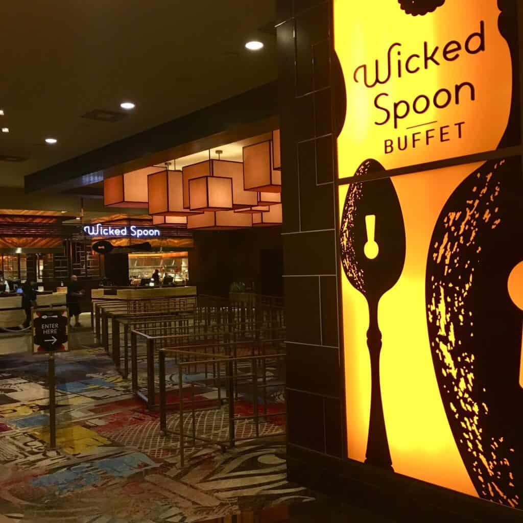 Entrance to Wicked Spoon Las Vegas