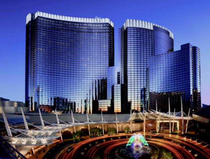 Aria Las Vegas exterior