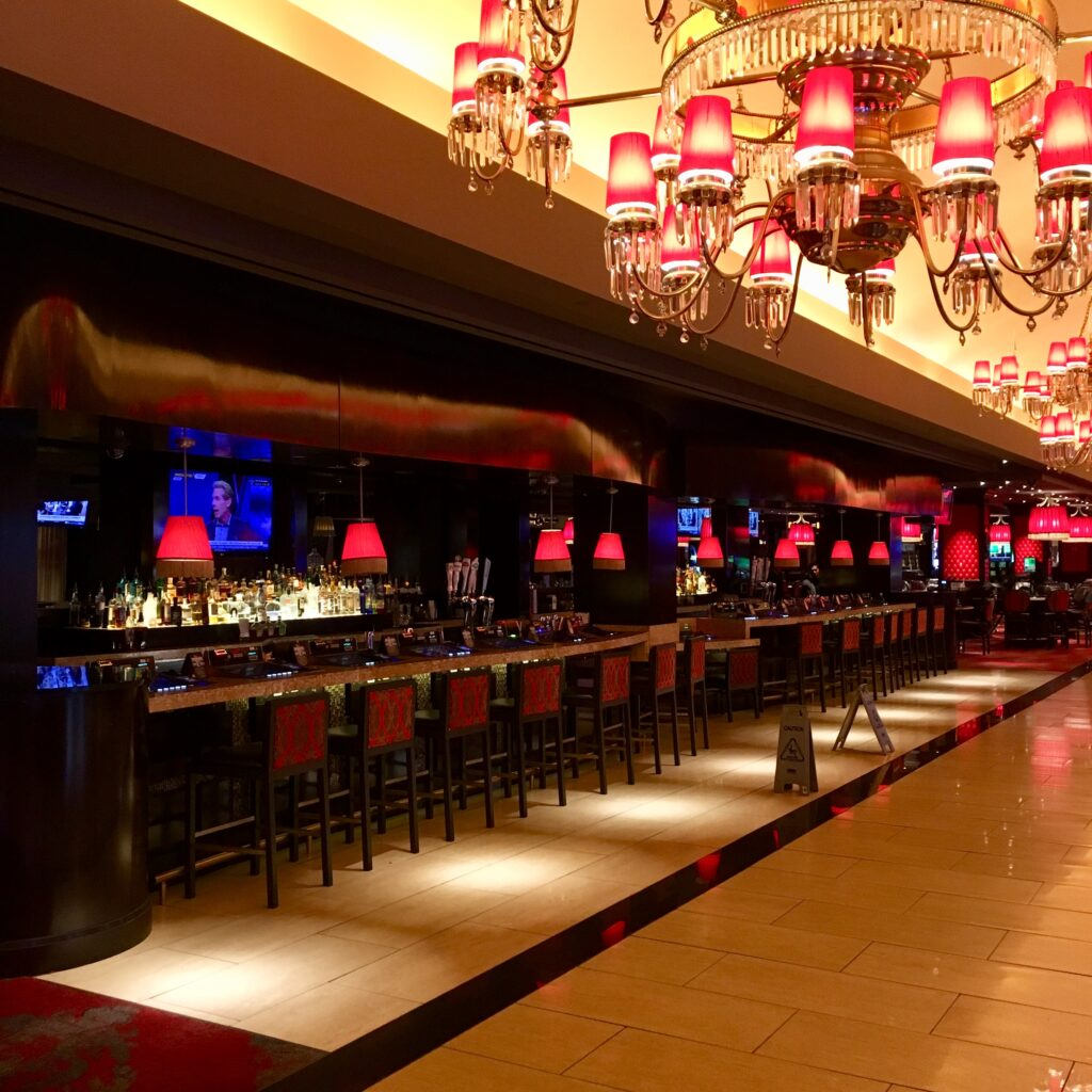 Cromwell's gaming floor