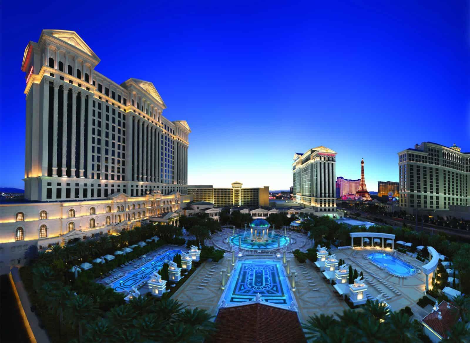 Caesars Palace Las Vegas Garden of the Gods Pool Complex