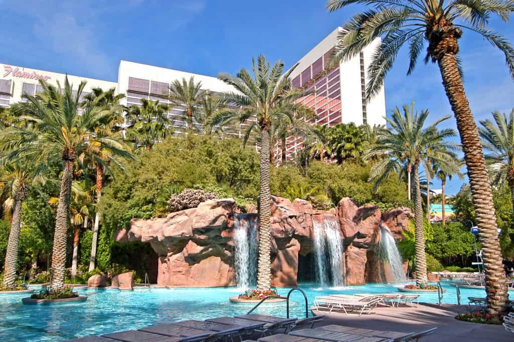 Flamingo's GoPool in Las Vegas
