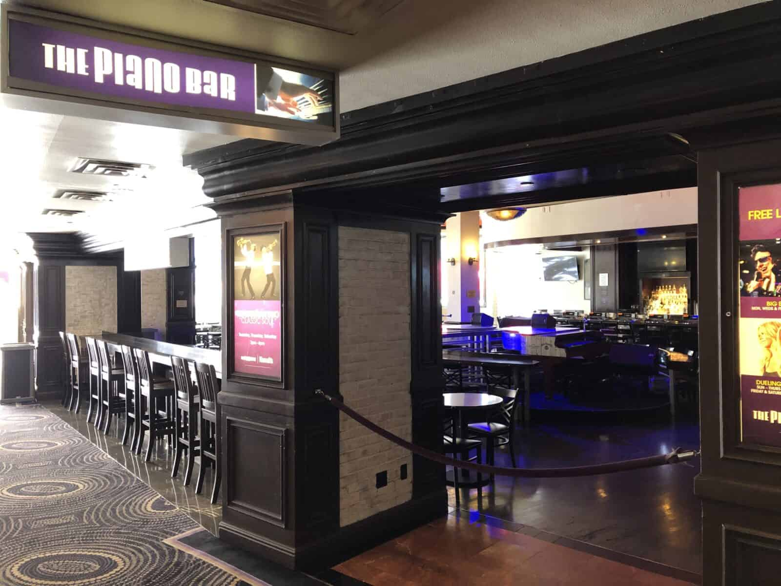 Piano Bar at Harrah's Las Vegas