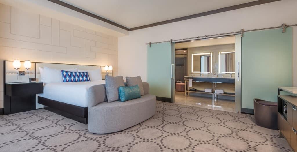 Presidential Suite Bedroom at Harrahs