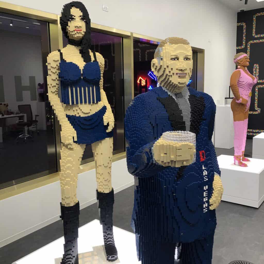 Lego Derek Stevens at Circa Las Vegas
