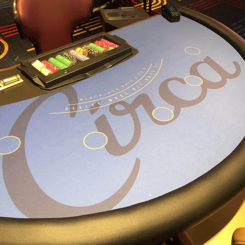 Blackjack Table at Circa Las Vegas