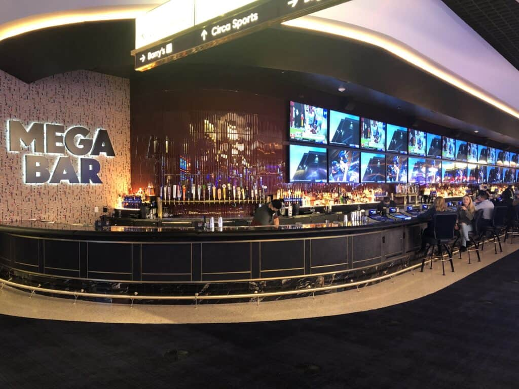 Mega Bar at Circa Las Vegas