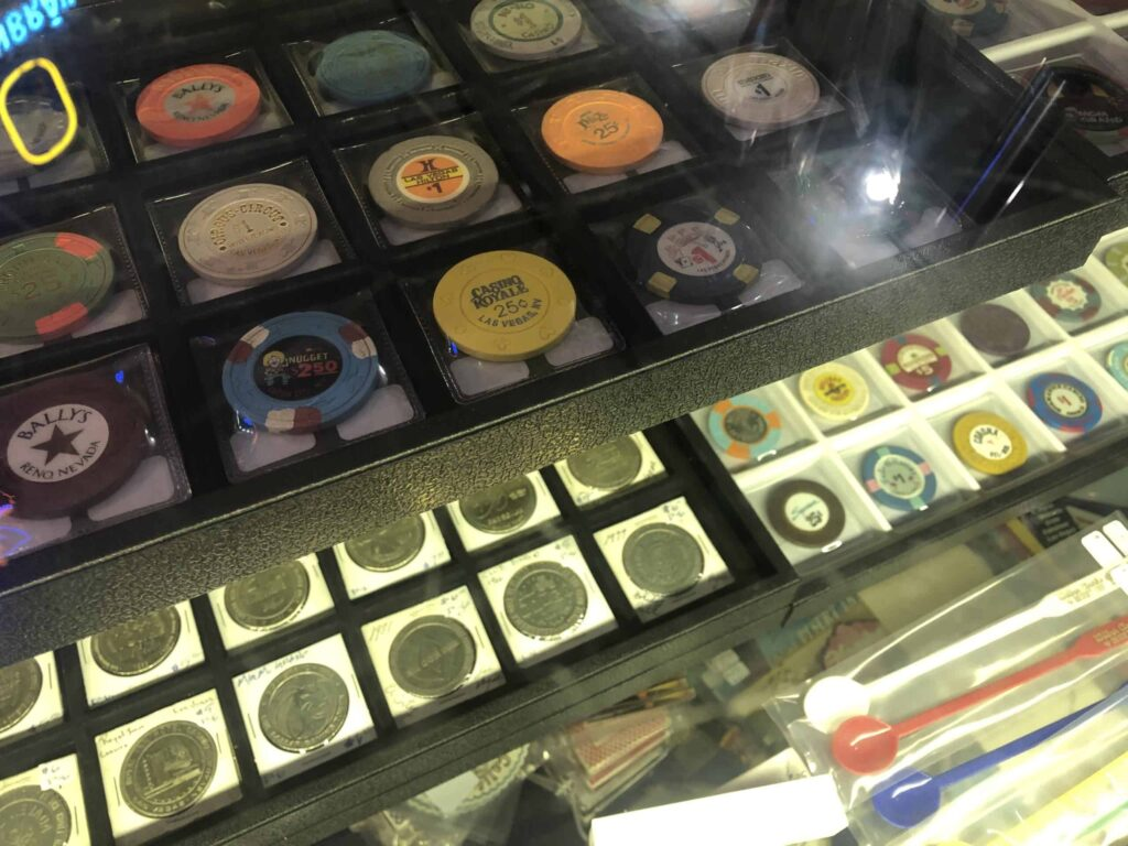 Collection of Casino Chips for sale in the Arts District