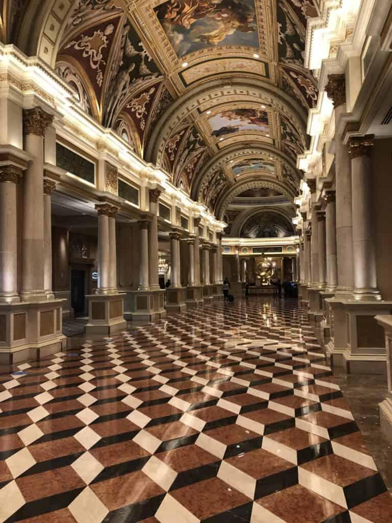 Venetian Las Vegas Lobby