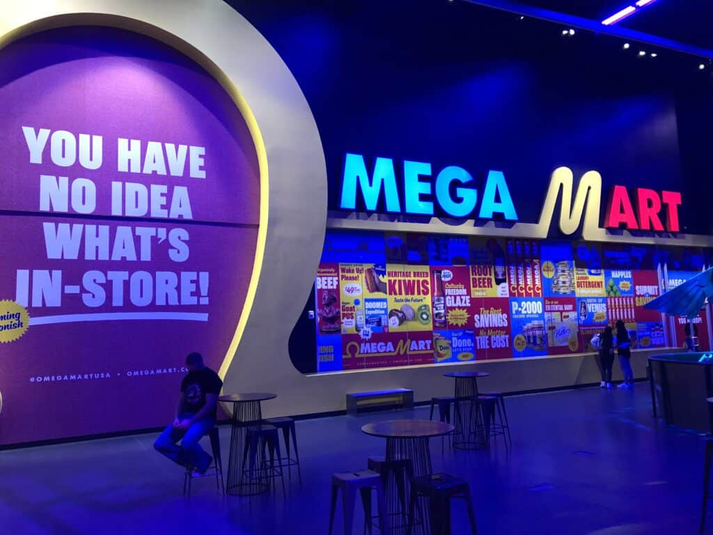 Mega Mart at Area15