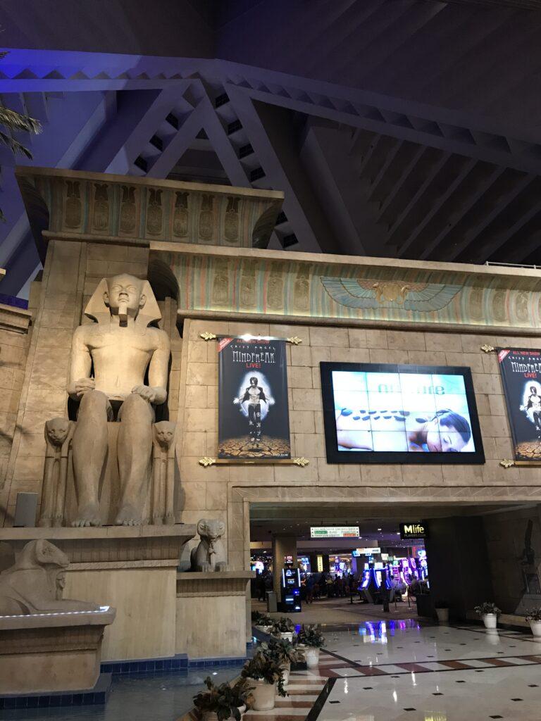 Luxor Las Vegas Entryway