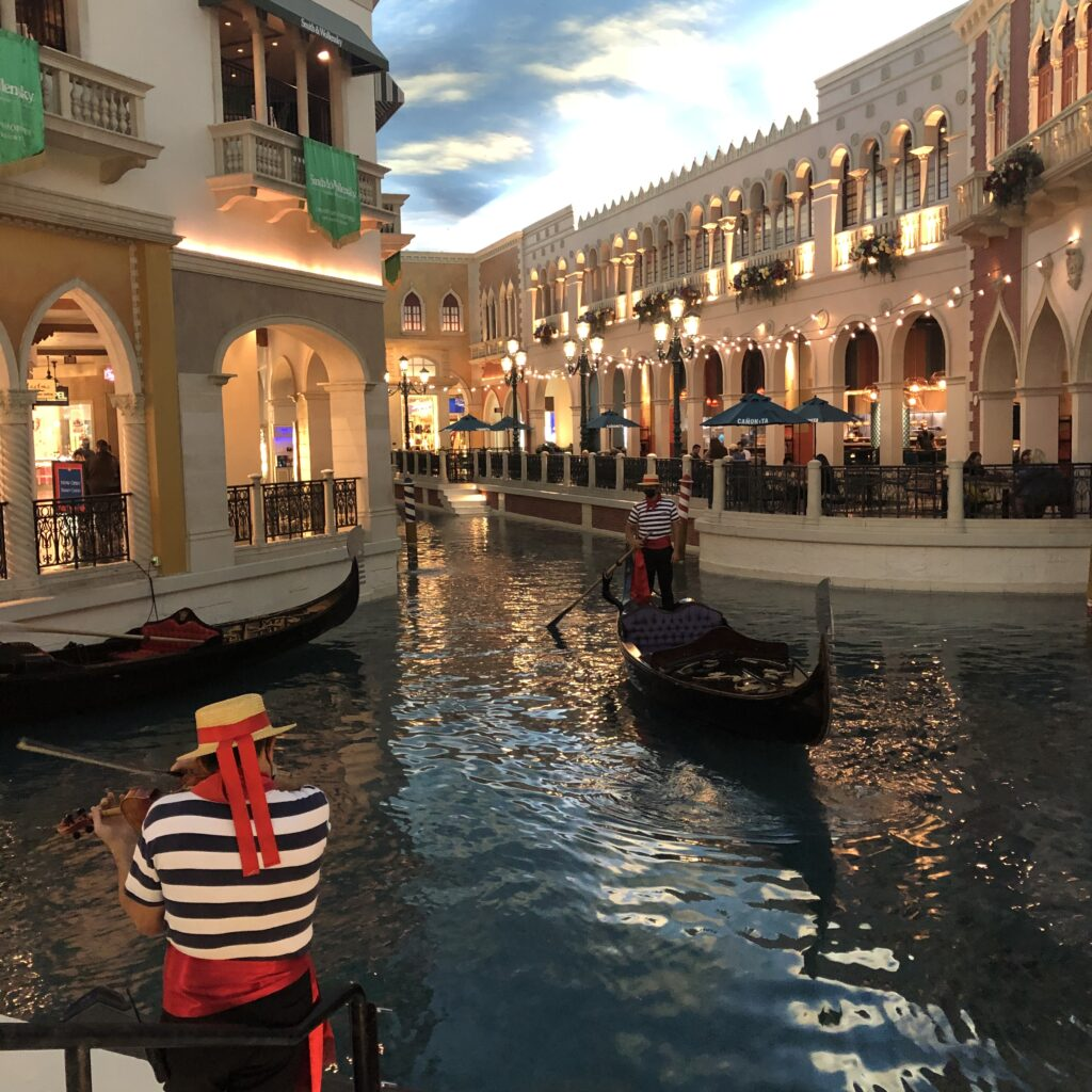 Grand Canal Shoppes at Venetian Las Vegas