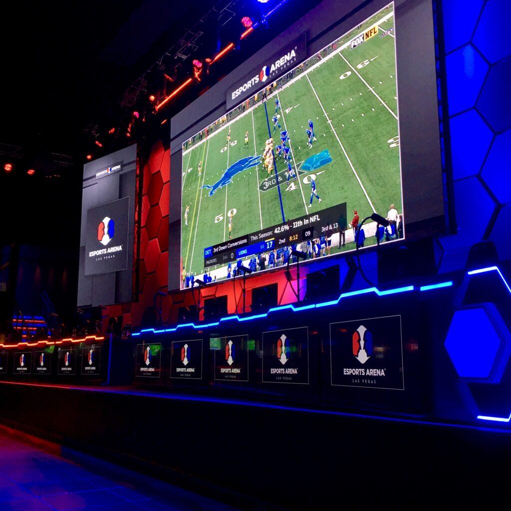 Luxor's HyperX Esports Arena