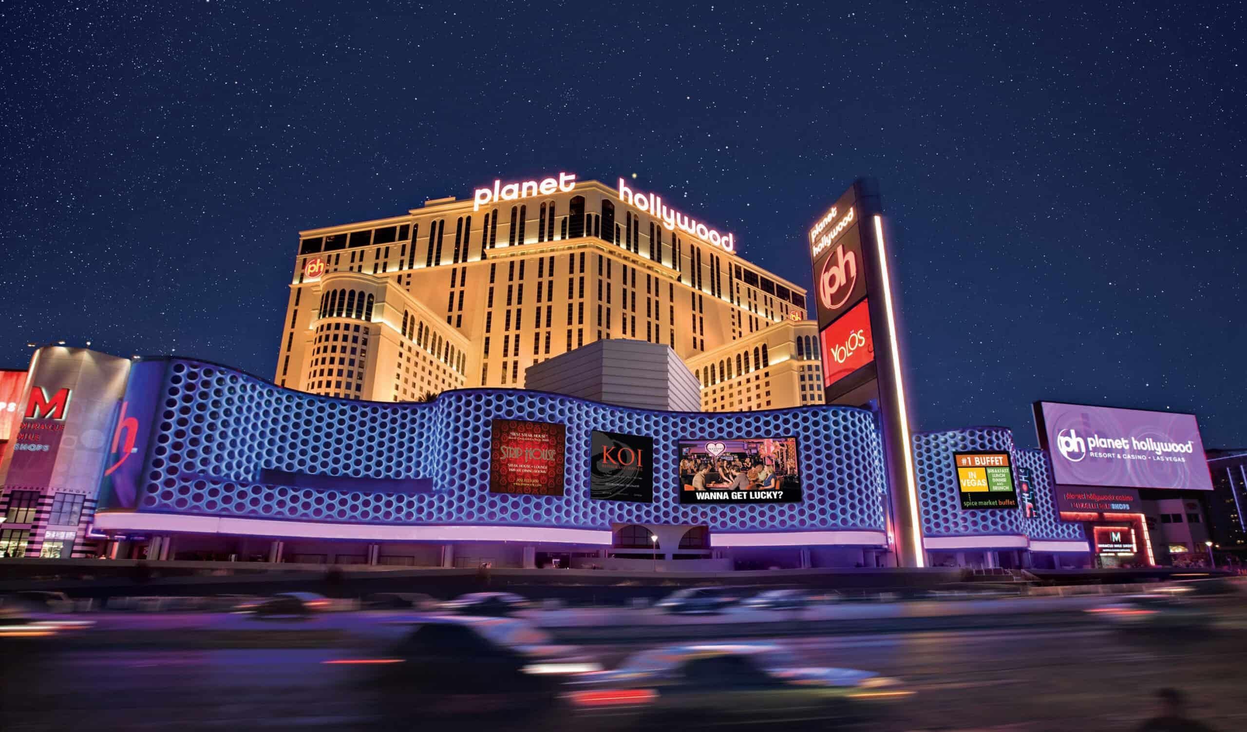 Planet Hollywood Las Vegas Exterior