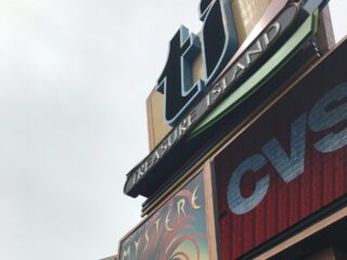 TI Las Vegas Sign