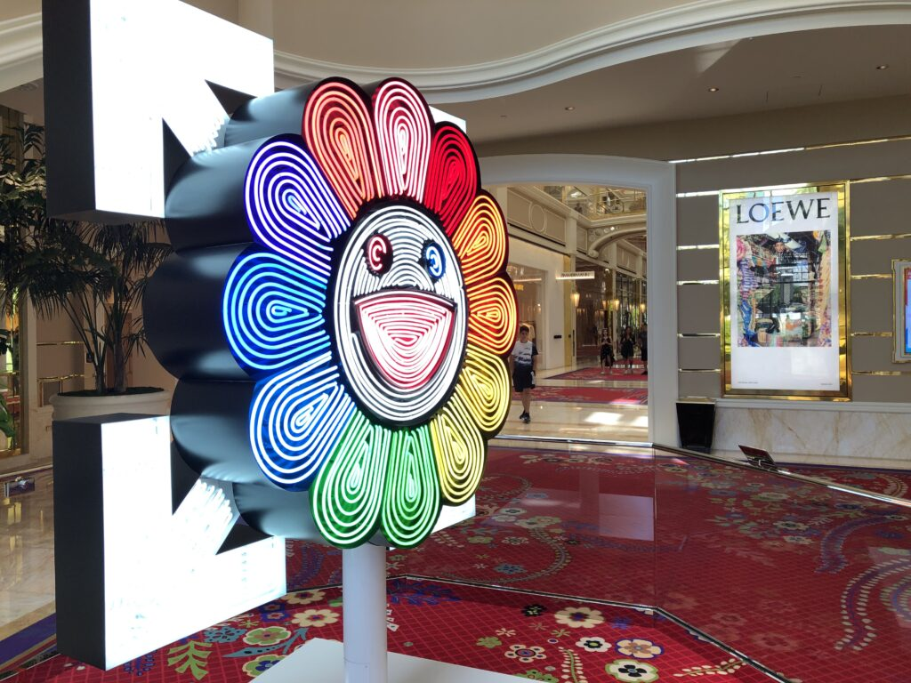 Art on display at Wynn Plaza Shops
