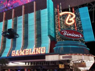 Binion's Las Vegas Exterior