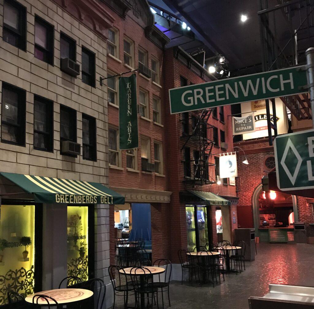Greenwich Villiage at New York New York Las Vegas