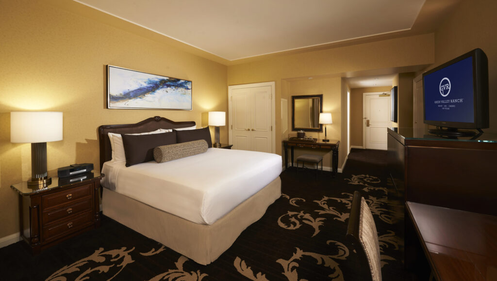 Deluxe King room at Green Valley Ranch Las Vegas