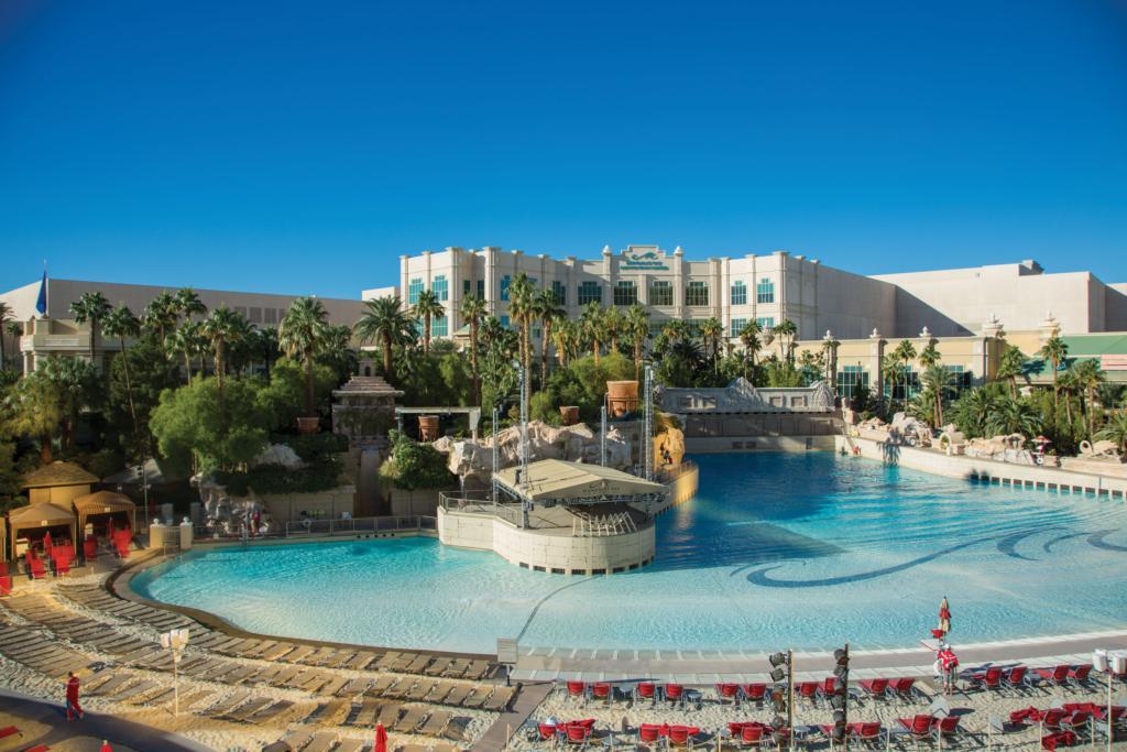 Pool at Mandalay Bay Las Vegas