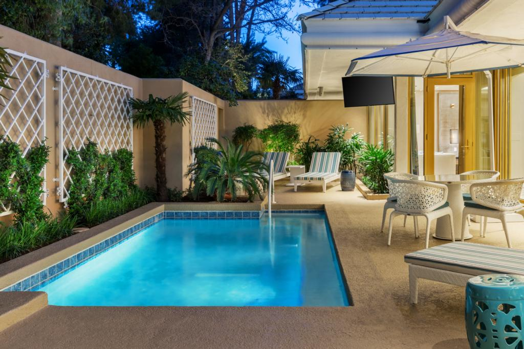Private Pool at Mirage Las Vegas