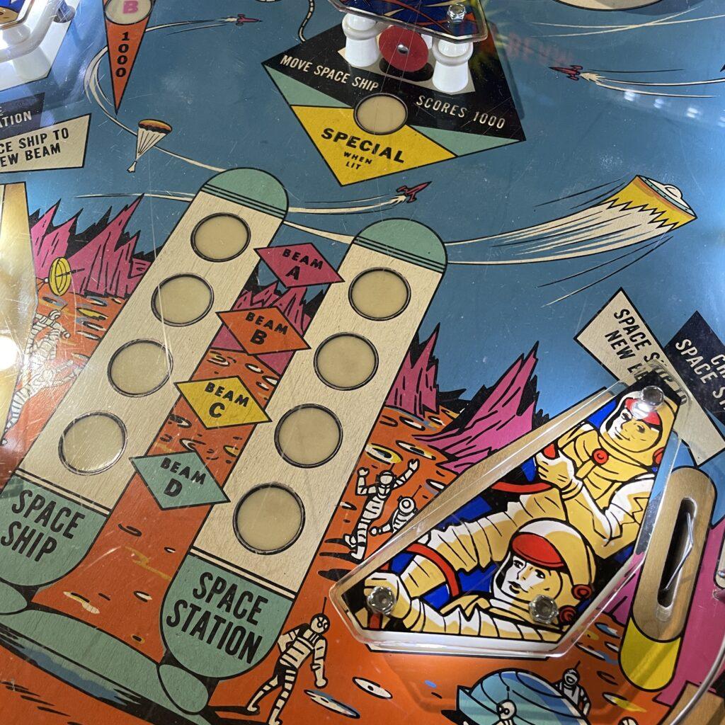 Pinball machine playing surface