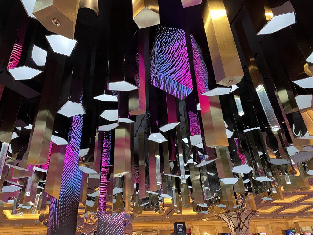 Crystal Bar Ceiling