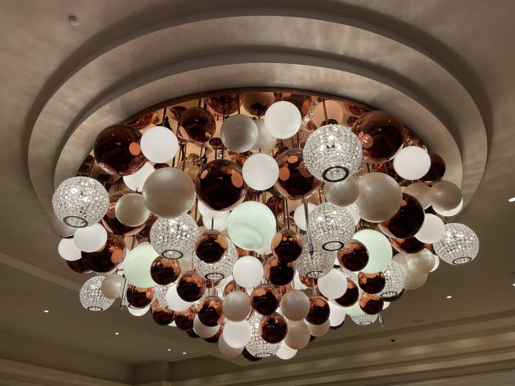 Decorative Light fixture at Resorts World