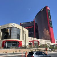 Resorts World Las Vegas Exterior