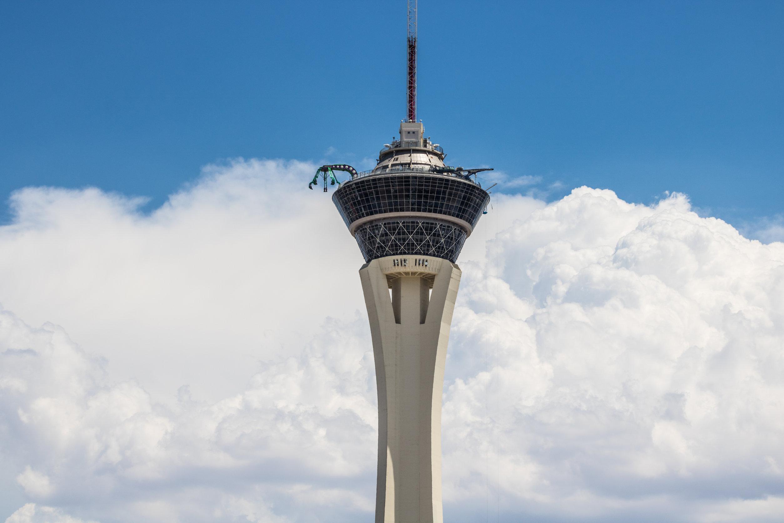 Strat Las Vegas Skypod Exterior