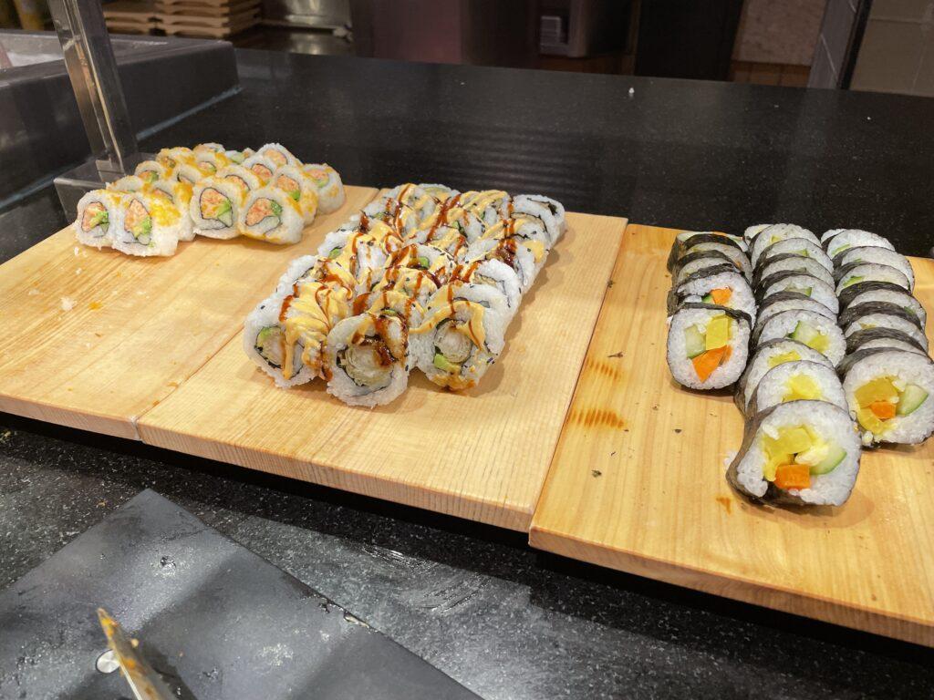 Sushi at The Buffet at Wynn