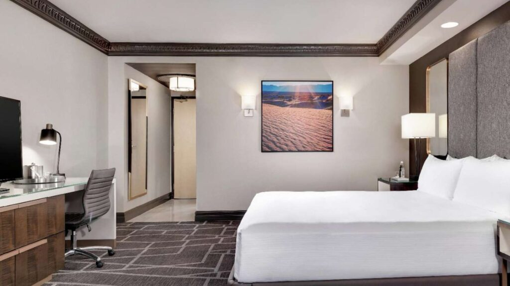 Renovated Tower Room at Luxor