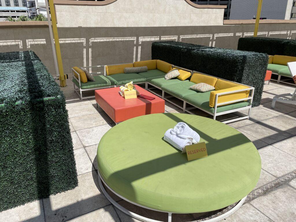 Pool Cabana at Downtown Grand