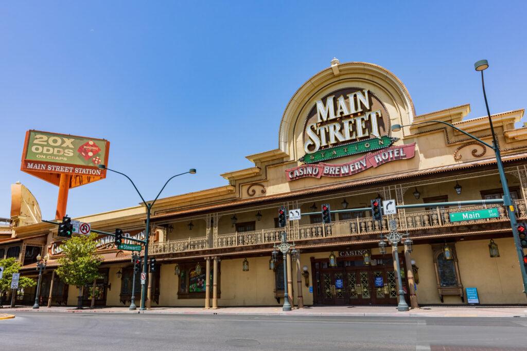 Main Straet Station Las Vegas Exterior