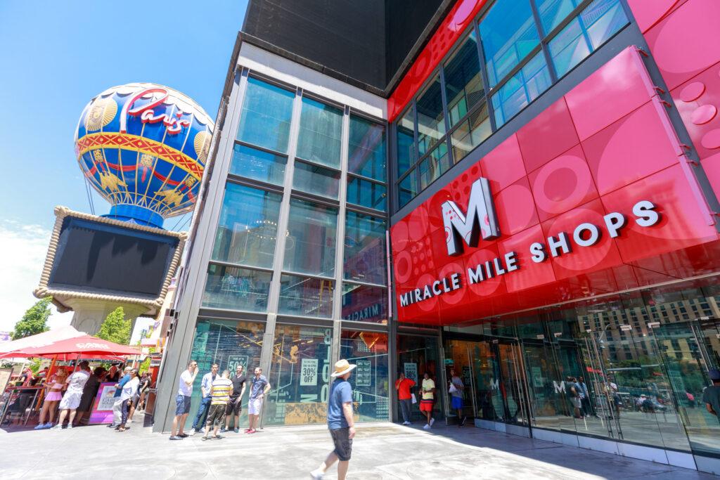 Miracle Mile Shops Entrance