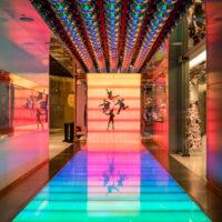 Beatles Love Entrance in Las Vegas
