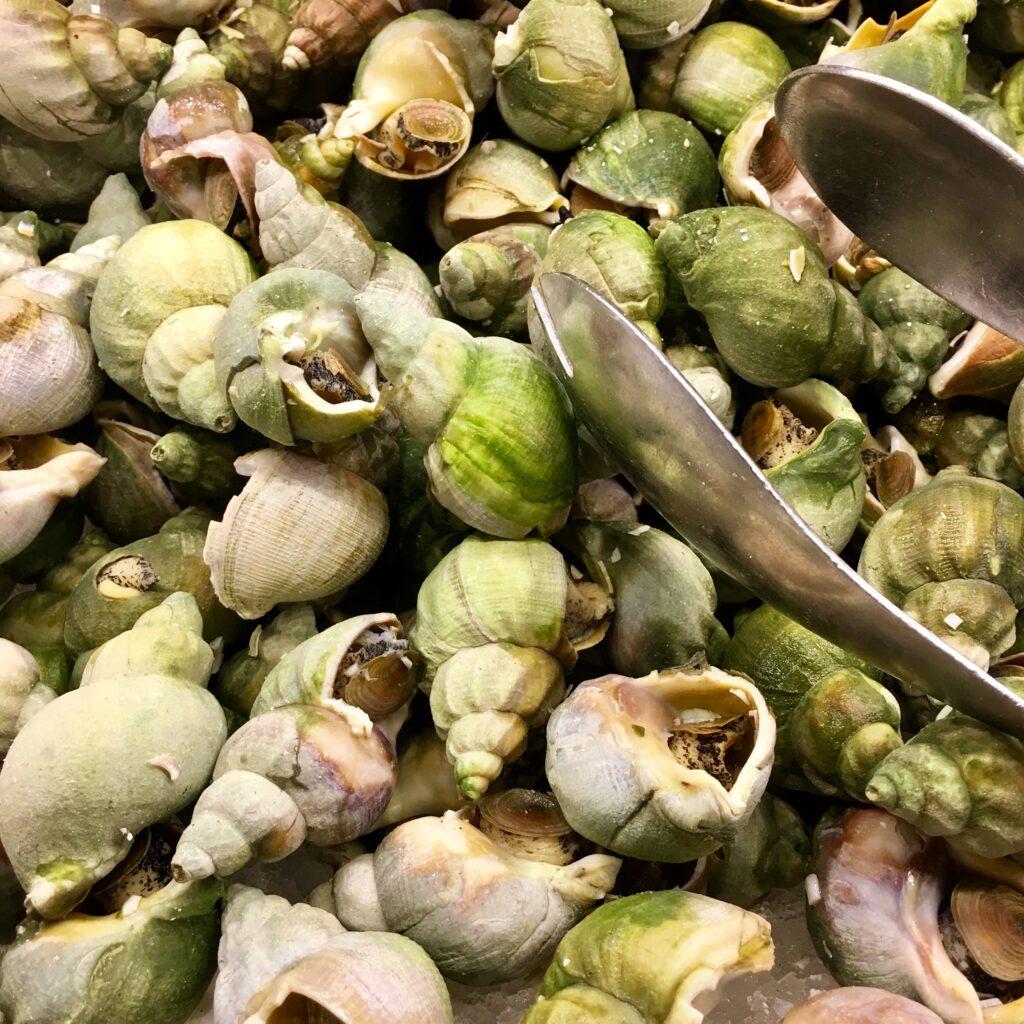 Pile of Sea Snails at Bacchanal Buffet