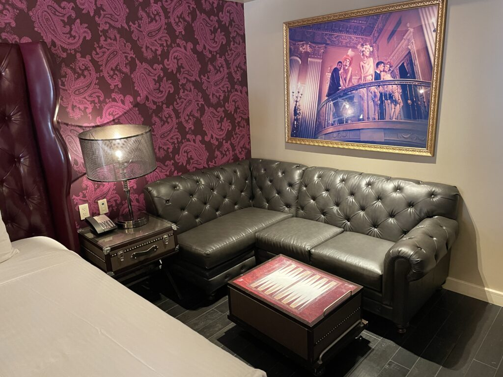 Sectional Couch in the Luxury Room