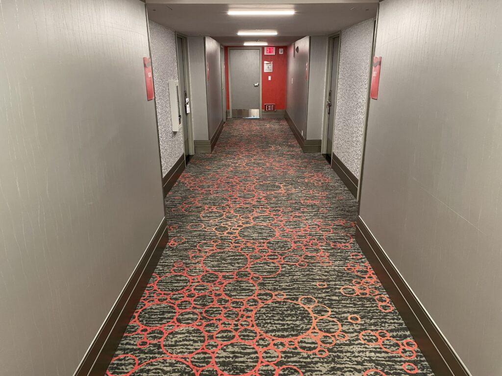 Hotel hallway at Flamingo Las Vegas