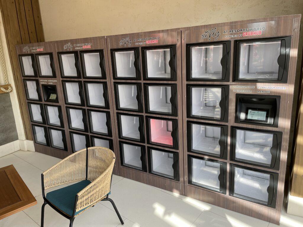 Grubhub Lockers at Resorts World