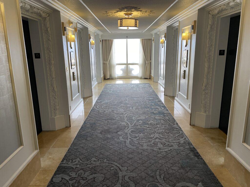 Elevator Lobby at Paris Las Vegas