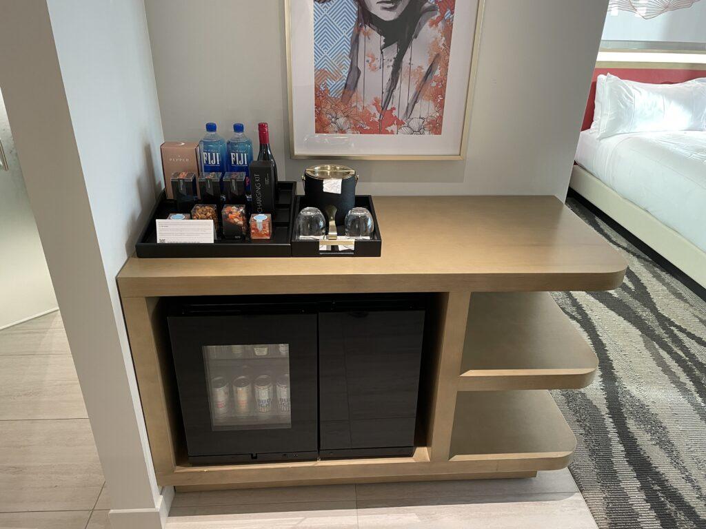 Resorts World Conrad Room Mini Bar